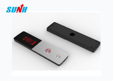 Stainless Steel Elevator Call Panel LOP Anti Fingerprint With Red Seven Segment Code Display